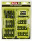 Ryobi 34-Piece Impacted Rated Steel Driving Bit Set