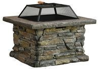 Purcell Iron Wood Fire Pit