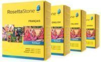 Rosetta Stone Levels 1-4 (Your Choice: 4 Languages)