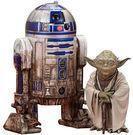 Kotobukiya Star Wars: Yoda & R2-D2 Statues 2-Pack