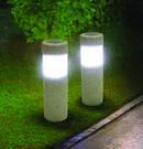 Two Ideaworks Solar Pillar LED Pathway Lights