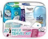 On The Go Women's 10-Piece Travel Kit