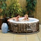 SaluSpa Realtree AirJet 4-Person Portable Inflatable Hot Tub