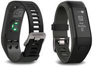 Garmin Vívosmart HR+ Regular Fit Activity Tracker - Black