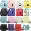 Instax Mini 8 Fujifilm Instant Camera + Case & 20 Film Sheet