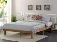 Zinus Queen Solid Wood Platform Bed Frame