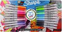 20 Pk. Sharpie Fine Point Permanent Markers, Assorted Colors