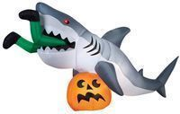 Gemmy 9-Foot Animated Inflatable Shark