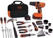 BLACK+DECKER LDX120PK 20V MAX Lithium-Ion Drill Project Kit