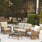 Lakewood Ranch Woven Resin 4 Piece Patio Set