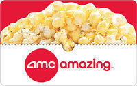 Free Popcorn Voucher With $25 AMC Gift Card