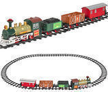 Classic Train Set For Kids With Music and Lights