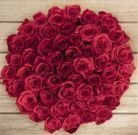 Pre-Order 50 Valentine's Day Red Roses
