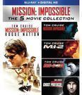 Mission: Impossible 5-Movie Collection (Blu-ray/Digital HD)