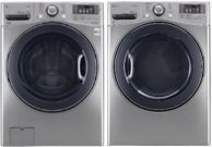 LG 4.5-cu ft HE Stackable Front-Load Washer & Dryer $699 Ea