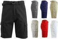 Men's Cargo Cotton Shorts