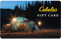 $100 Cabela's Gift Card - 1st Class Mail Delivery