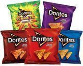 Doritos 40 Count Flavored Tortilla Chip Variety Pack