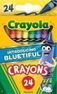2pks New Bluetiful Crayola Classic Crayon 24ct