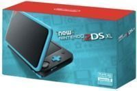 Nintendo 2DS XL  Black and Turquoise