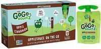 GoGo SqueeZ Applesauce on the Go 3.2-oz. Pouch 12-Pack