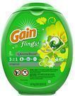 Gain Flings Laundry Detergent Pacs 81-Ct.