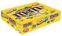 M&M's Peanut Chocolate Candy Singles 48-Count Box