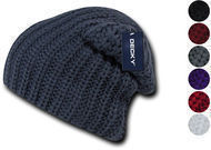 Decky Cable Knit Beanie