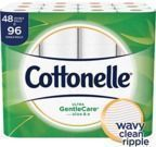 Cottonelle Ultra GentleCare Toilet Paper 48-Double Rolls