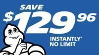 Costco - $70 Off 4 Michelin Tires + $0.01 Installation per Tire