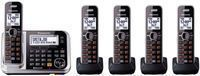 Panasonic DECT 6.0 5-Handset Phone System