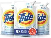 Tide Free & Gentle HE Laundry Detergent - 3 Pack