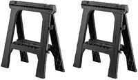 Husky 28 Folding Sawhorse - 2 Pack