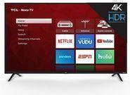 TCL 65S421  65 4K HDR LED Ultra HD Roku Smart TV