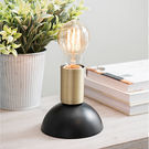 Modern Brass Edison Bulb Lamp