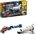 Lego Creator 3-in-1 Shuttle Transporter Building Kit