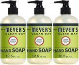 Mrs. Meyer's Clean Day Liquid Hand Soap 3-Pack