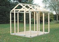 Hopkins 2x4basics Peak Roof Shed Kit