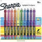 Sharpie Liquid Chisel Tip Assorted Highlighters, 10 Count