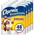 Charmin Essentials Strong Giant Roll Toilet Paper 48-Pack