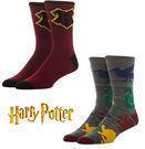 2-Pairs Bioworld Harry Potter Crew Socks