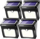 Zookki 28-LED Solar Motion Sensor Light 4-pk