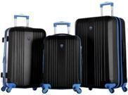 Olympia USA Apache II 3-Piece Expandable Spinner Luggage Set