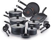 T-Fal Initiatives Nonstick 18-Pc. Cookware Set