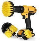 All-Purpose 3 Pc. Power Scrub Brush Drill Attachment Set