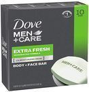Dove Men+Care Body and Face 10-Bar Pack