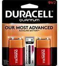 Duracell 9-Volt Alkaline Battery 2-Pack