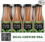 Pure Leaf Iced Tea Unsweetened 18.5 Oz. 12-Pack