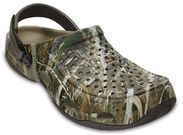 Crocs Mens Swiftwater Deck Realtree Max-5 Clog