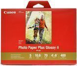 CanonInk Photo Paper Plus Glossy II 4 x 6 400 Sheets